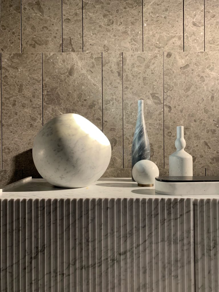 Marble design objects