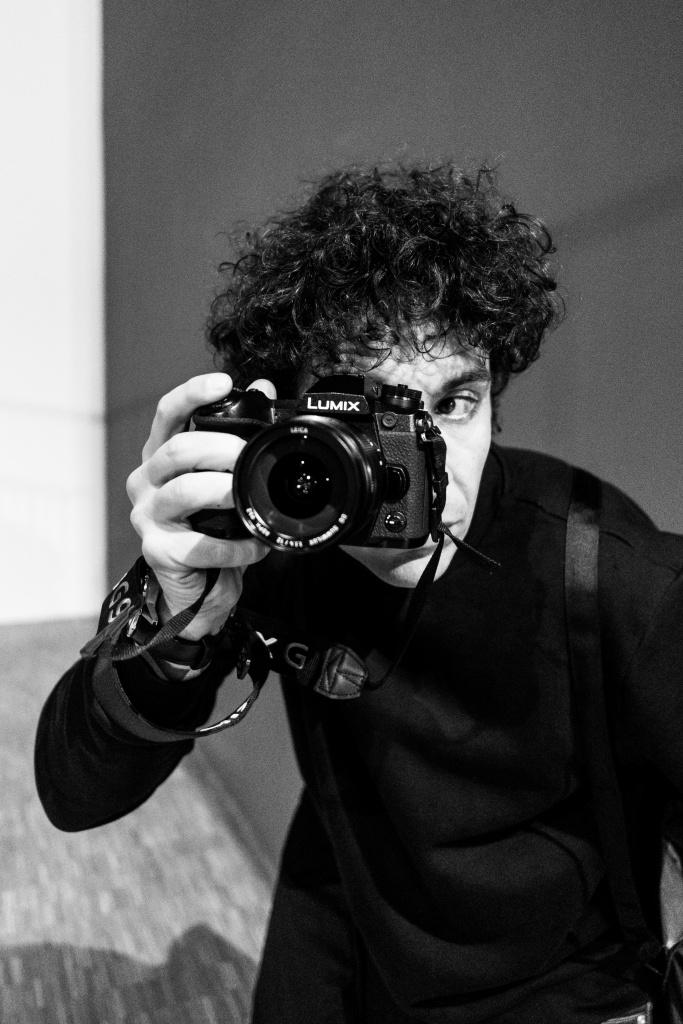 Photographer Giorgio Galimberti Portrait