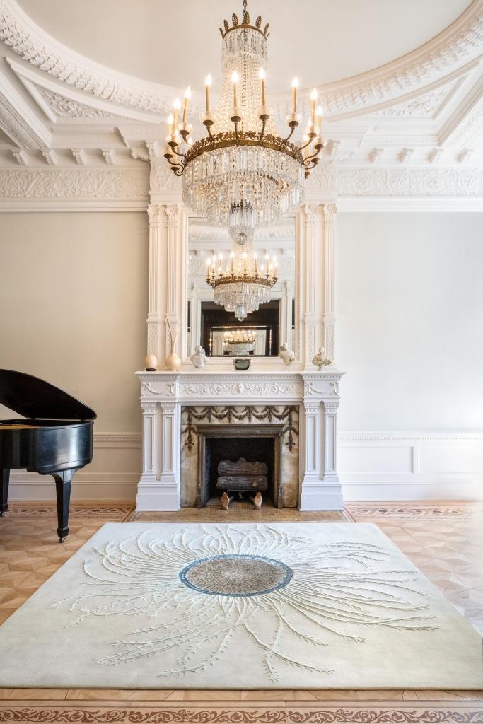 Interior Design rug light colour