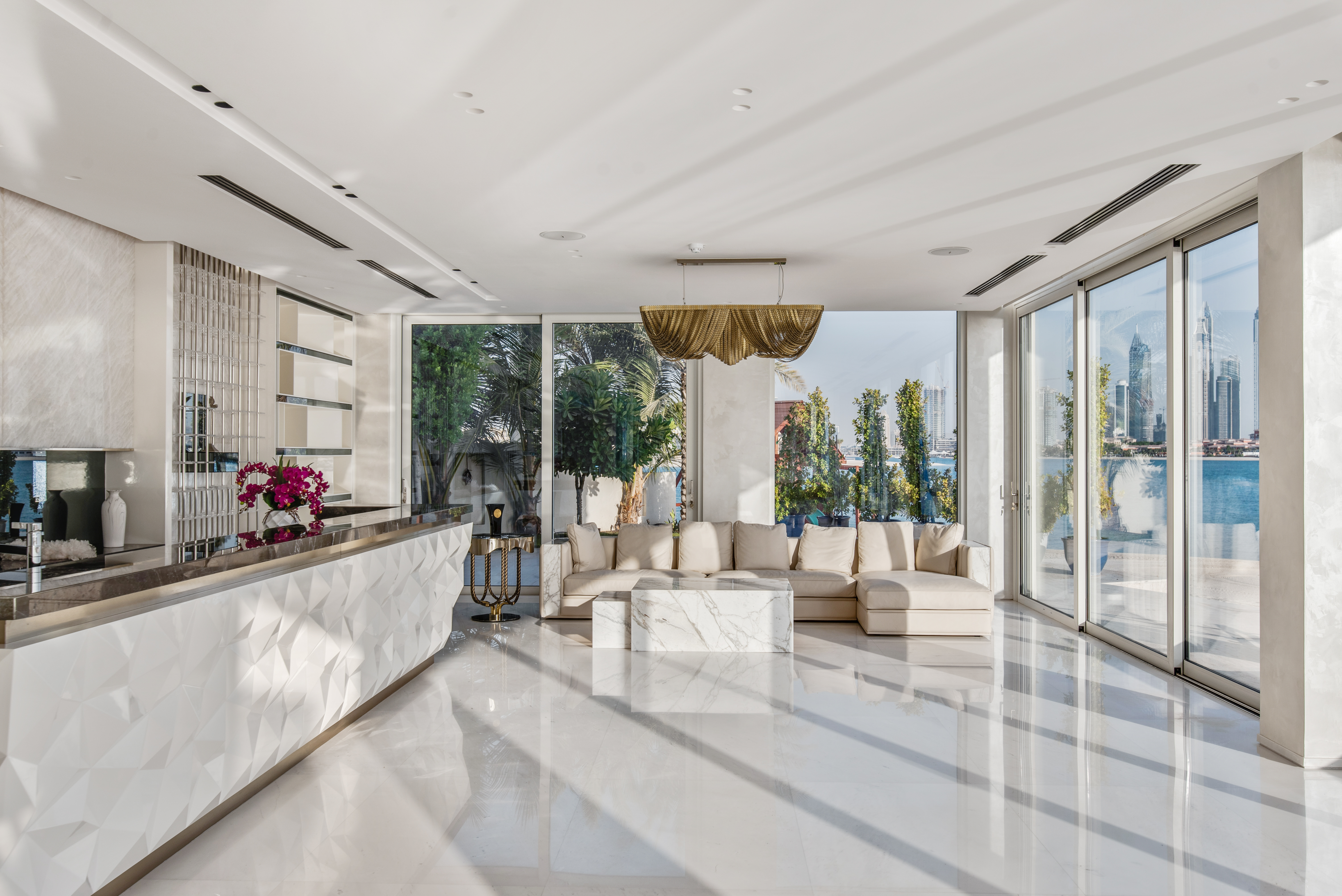Luxury Living Area Dubai