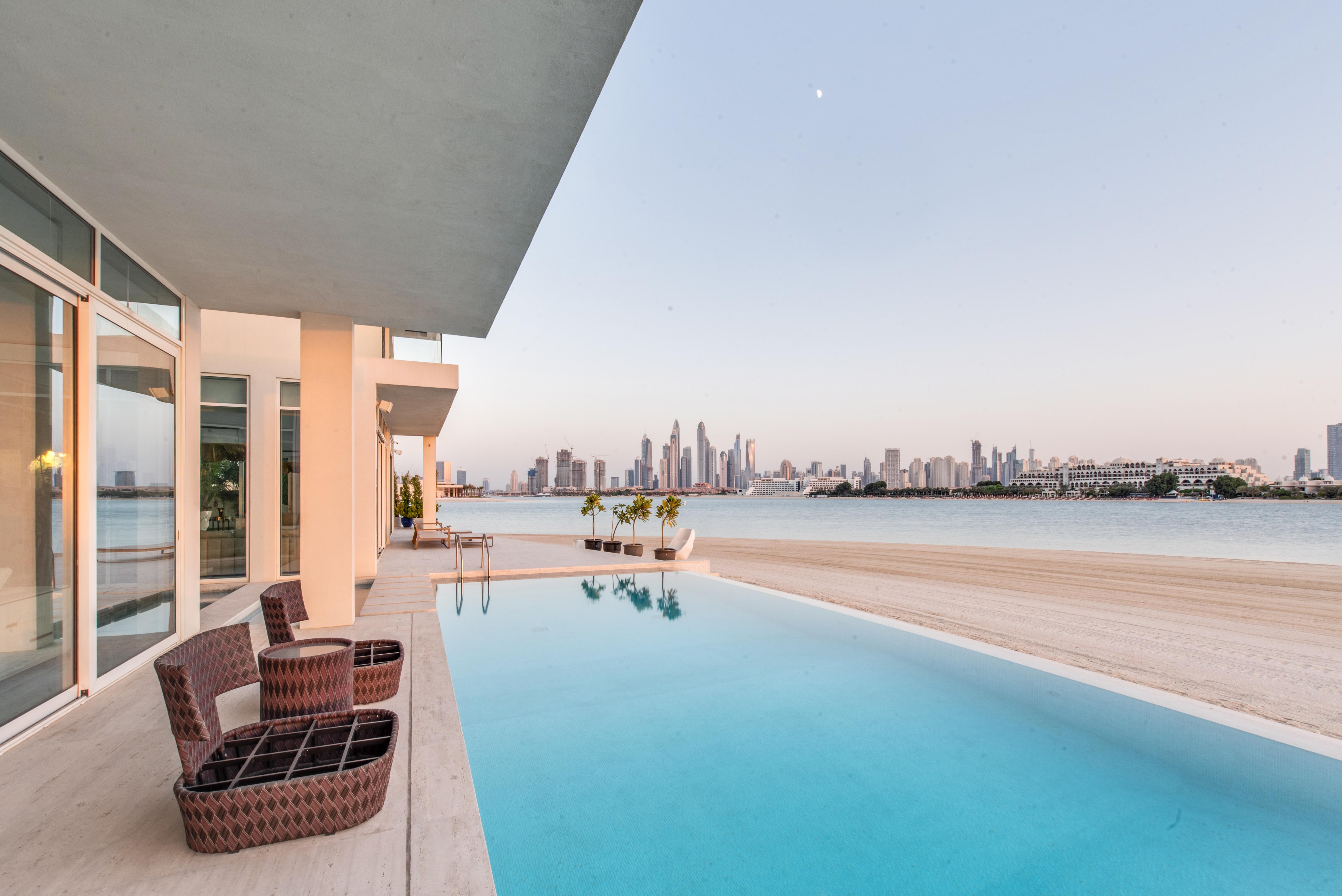 Interior Design Villa Dubai View